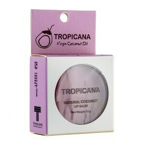 Бальзам для губ Tropicana Natural Coconut Lip Balm Mulberry Cheerful 10 мл