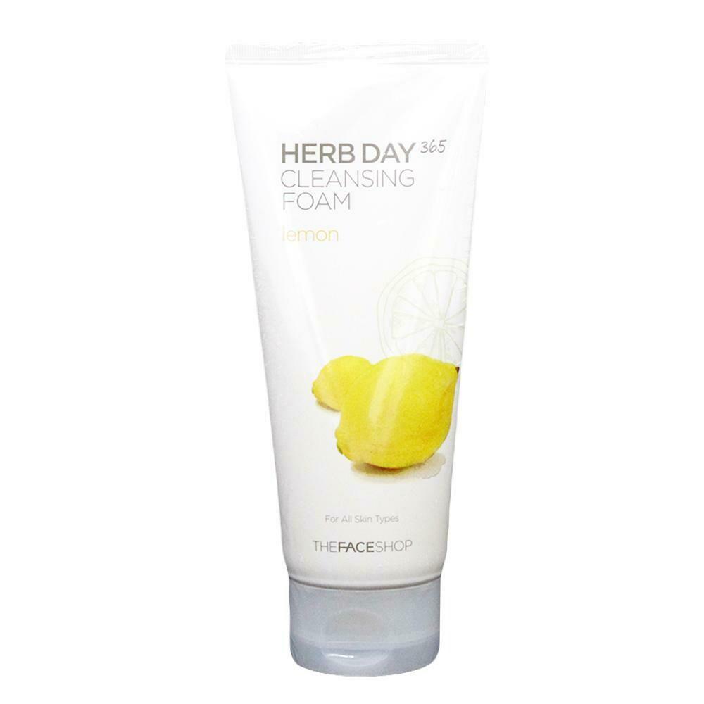 Пенка для умывания The Face Shop Herb Day 365 Lemon Cleansing Foam 170 мл