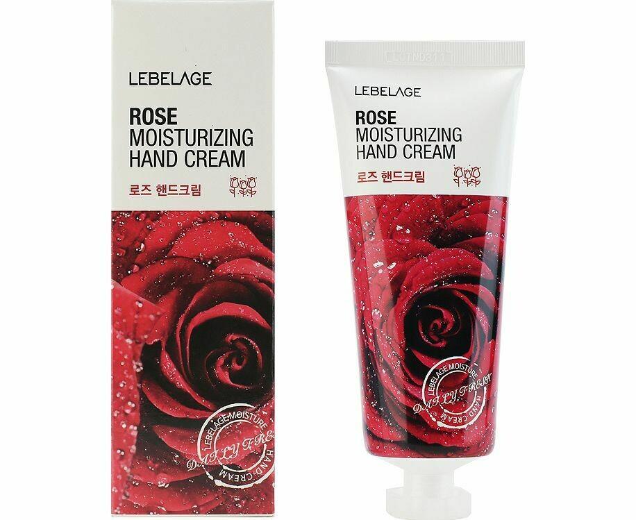 Крем для рук Lebelage Rose Moisturizing Hand Cream 100 мл