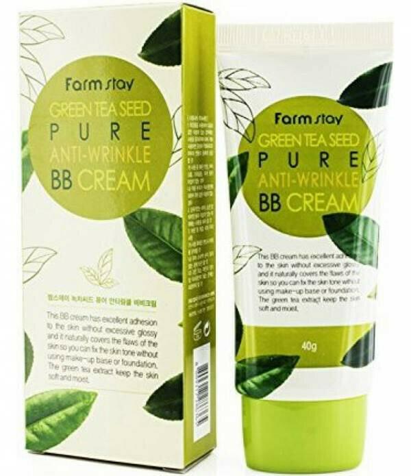BB крем для лица FarmStay Green Tea Seed Pure Anti-Wrinkle BB Cream 40 мл