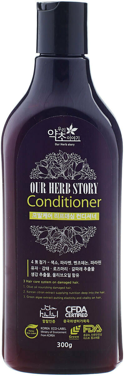 Кондиционер для волос `OUR HERB STORY` 300 мл