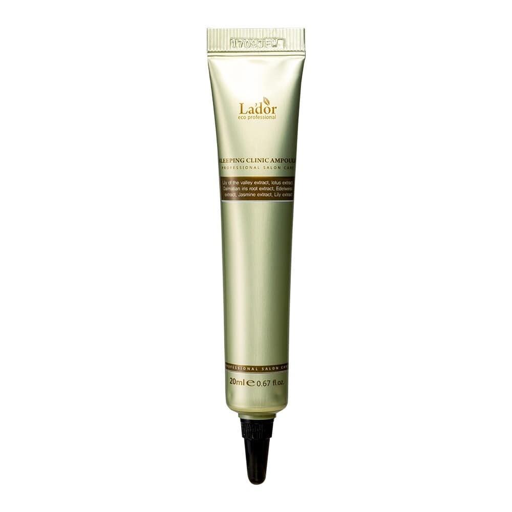 Ночная восстанавливающая сыворотка для волос Lador Keratin Power Fill Up Sleeping Clinic Ampoule 20 мл