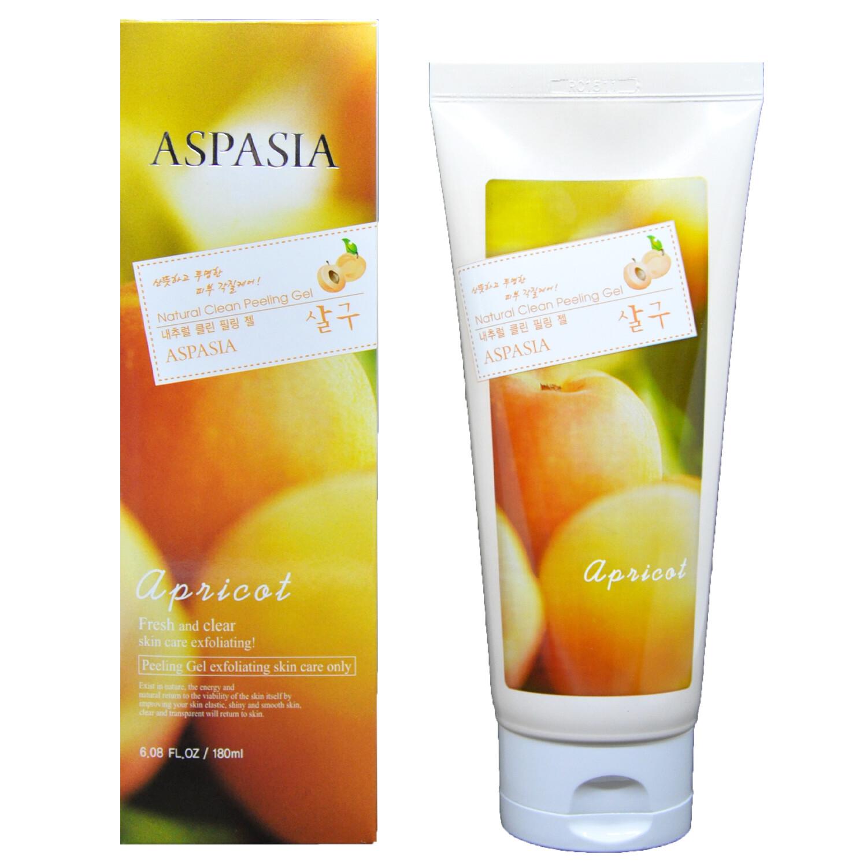 Гель-скатка для лица Aspasia свежесть и чистота с экстрактом абрикоса - Apricot Fresh and Clear skin care 180 мл