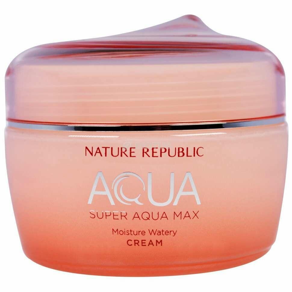 Крем для лица Nature Republic Super Aqua Max Moisture Watery Cream 80 мл