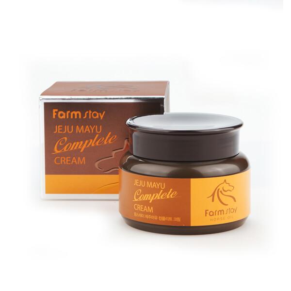 Комплексный питательный крем FarmStay Jeju Mayu Complete Cream 100 мл