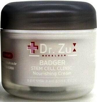 Питательный крем на основе барсучьего жира Monblush Dr.Zu Badger Clinic Nourishing Cream 50 мл