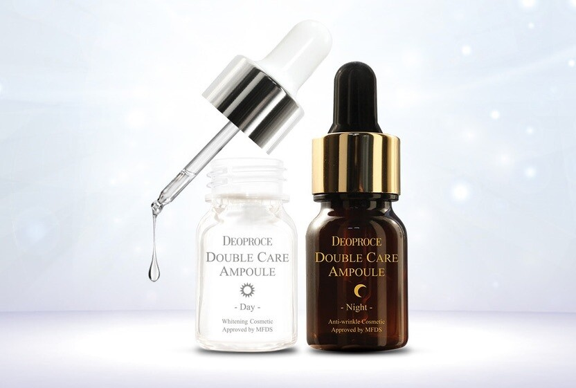 Ампульная сыворотка Deoproce Double Care Ampoule Day & Night Single Pack 26 мл