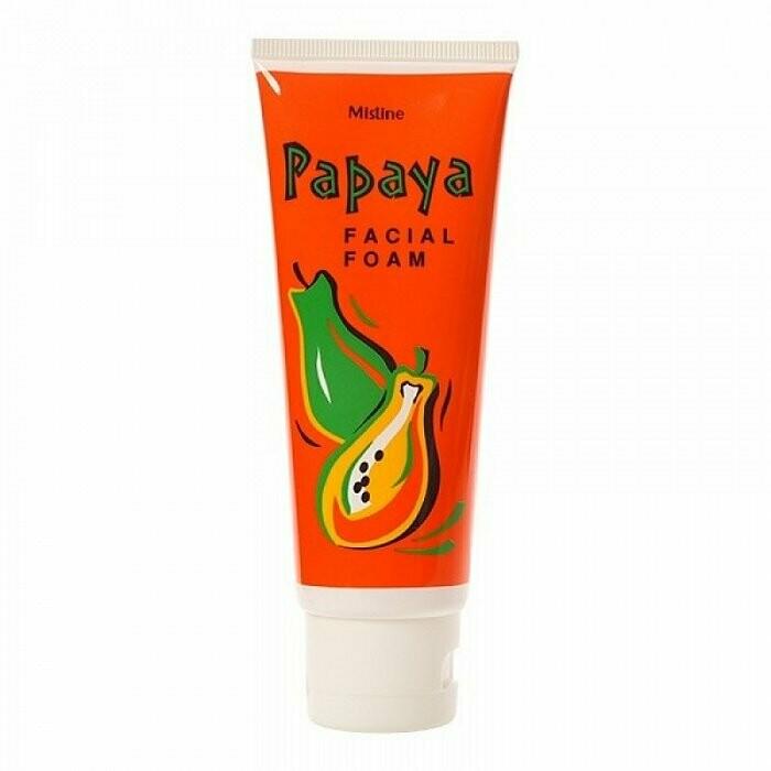 Пенка для умывания с Папайей от Mistine Papaya Facial Foam 100 мл