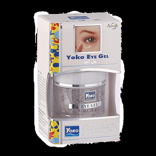 Гель для кожи вокруг глаз Yoko с экстрактом огурца и коллагеном от темных кругов под глазами 20 мл