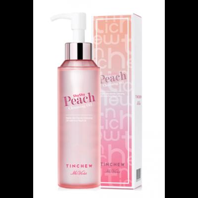 Персиковое гидрофильное масло для мягкого очищения кожи Tinchew Shy Shy Peach Cleansing Oil 150 мл