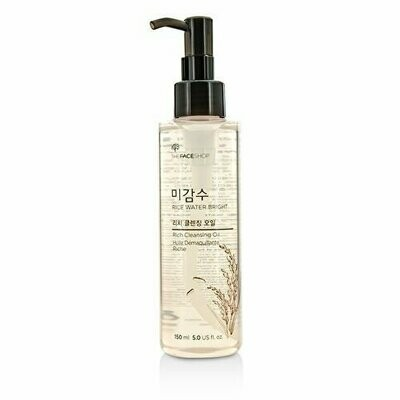 Гидрофильное масло The Face Shop Rice Water Bright Rich Cleansing Oil 150 мл