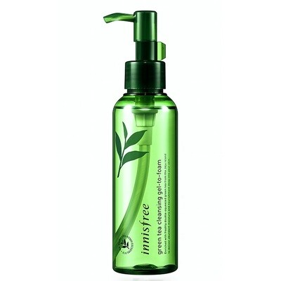Гидрофильное масло с зеленым чаем Green Tea Moisture Cleansing Oil Innisfree 150 мл
