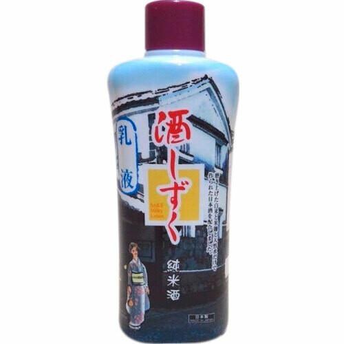 Daiso Sake Milky Lotion Косметическое молочко-лосьон для лица, для комбинированной и жирной кожи 200 мл