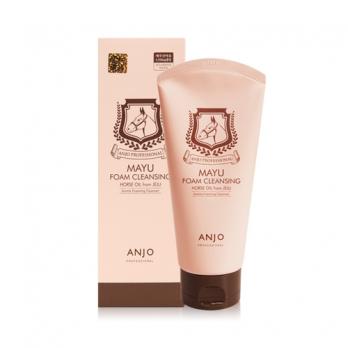 Пенка для умывания с лошадиным маслом ANJO PROFESSIONAL Mayu foam cleansing Horse oil 150 мл