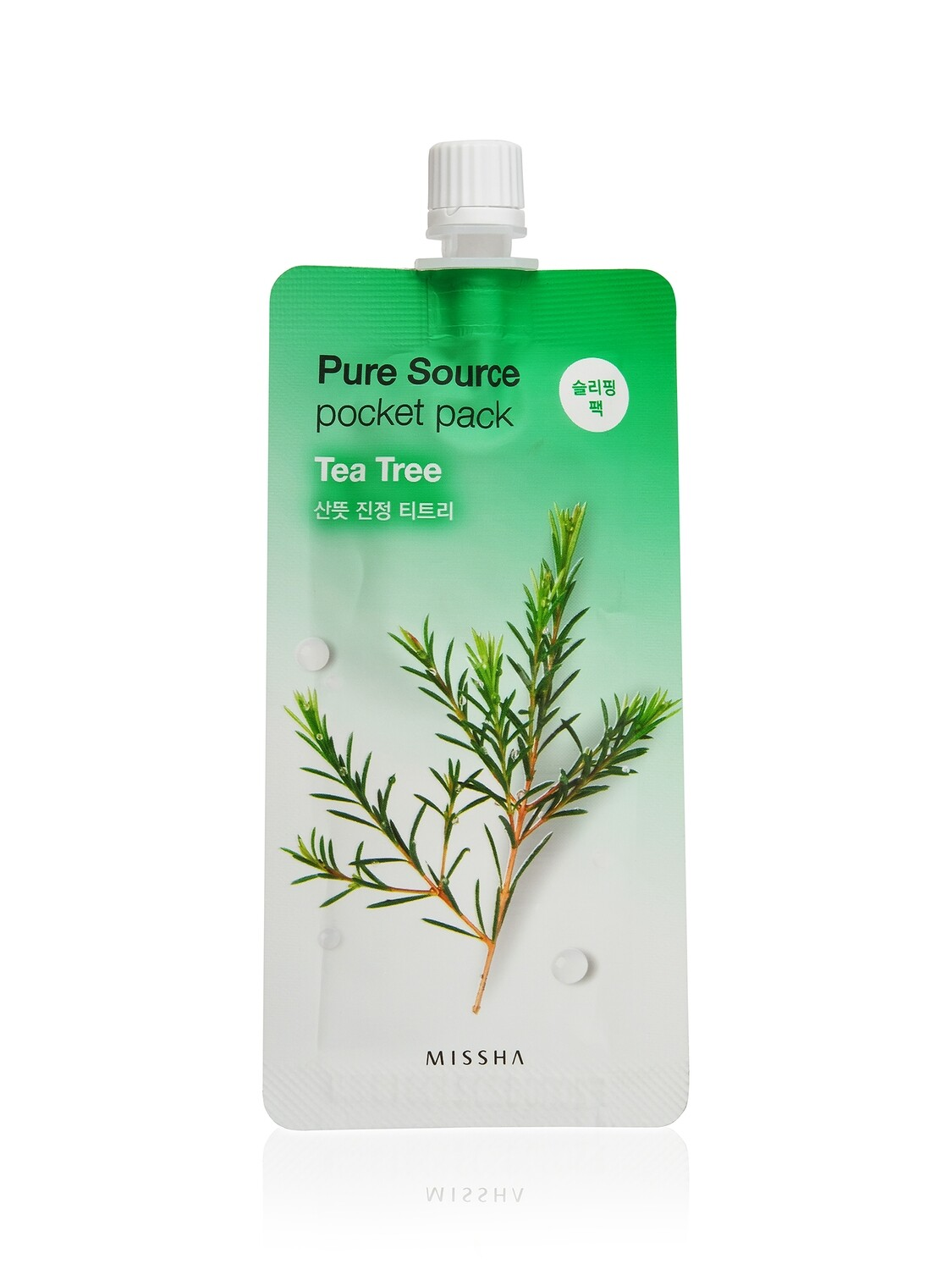 Маска для лица MISSHA Pure Source Pocket Pack Tea Tree 10 мл