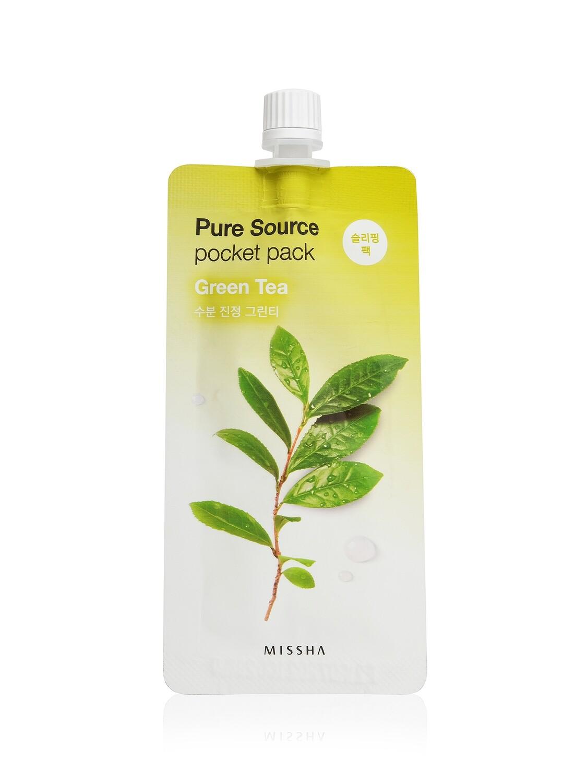 Маска для лица MISSHA Pure Source Pocket Pack Green Tea 10