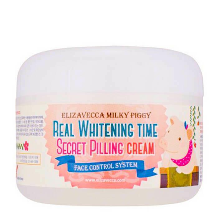 Пилинг-крем с AHA и BHA кислотами Elizavecca Whitening Time Secret Peeling Cream 100 мл