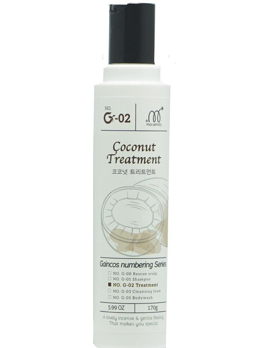 Бальзам-маска для волос с экстрактом кокоса Maruemsta Coconut Treatment 170 мл