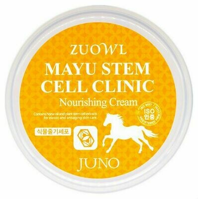 Крем для лица и тела Juno Zuowl Stem Cell Clinic Nourishing Cream Horse Oil