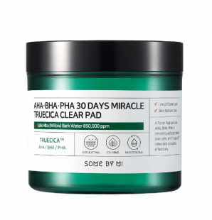 Кислотные пэды для проблемной кожи Some By Mi AHA BHA PHA 30 Days Miracle Truecica Clear Pad 125 мл