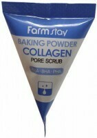 Скраб для лица в пирамидках с коллагеном Farm Stay Collagen Pore Scrub 7 мл