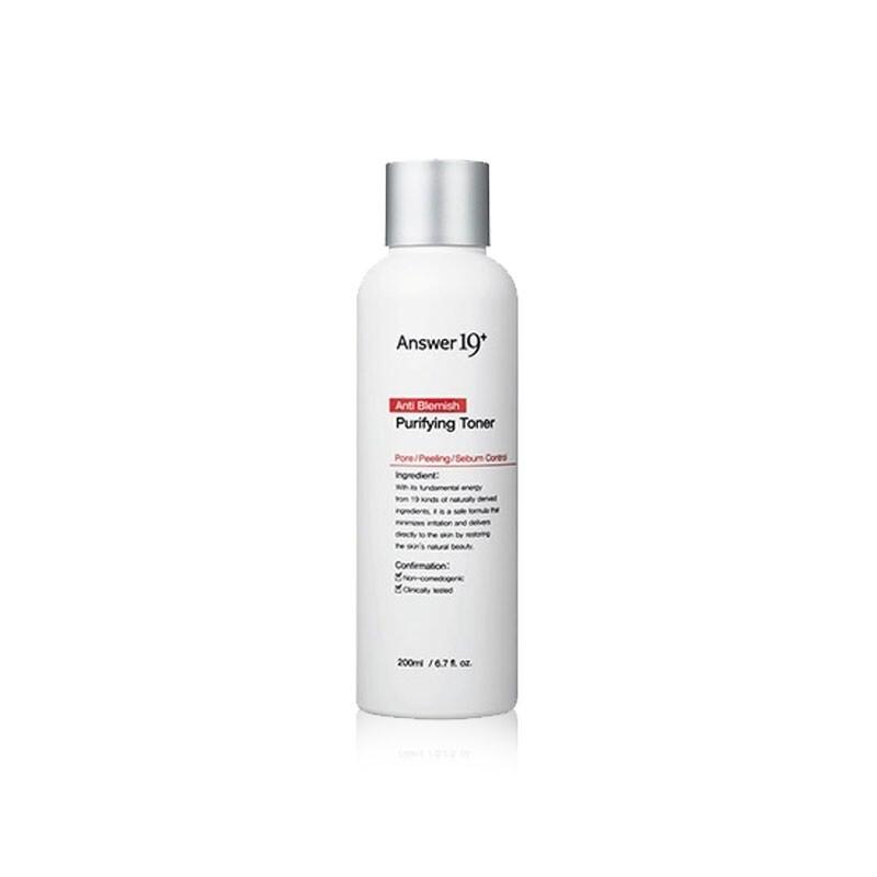 Очищающий тонер для проблемной кожи Answer 19+ Anti Blemish Purifying Toner 200 мл