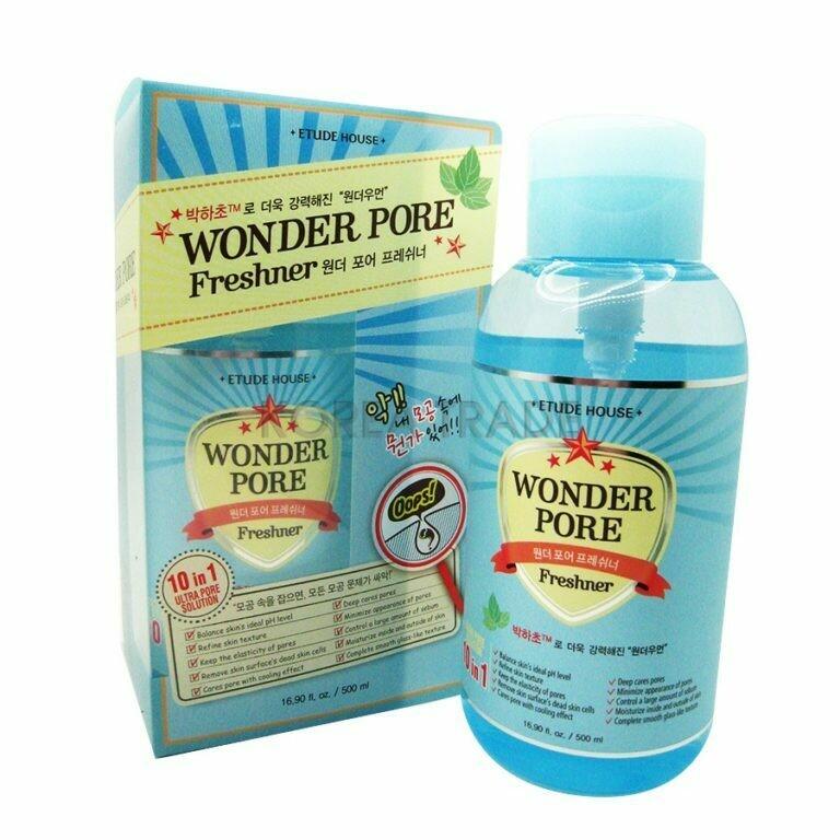 Тоник для сужения пор Etude House Wonder Pore Freshner 500 мл