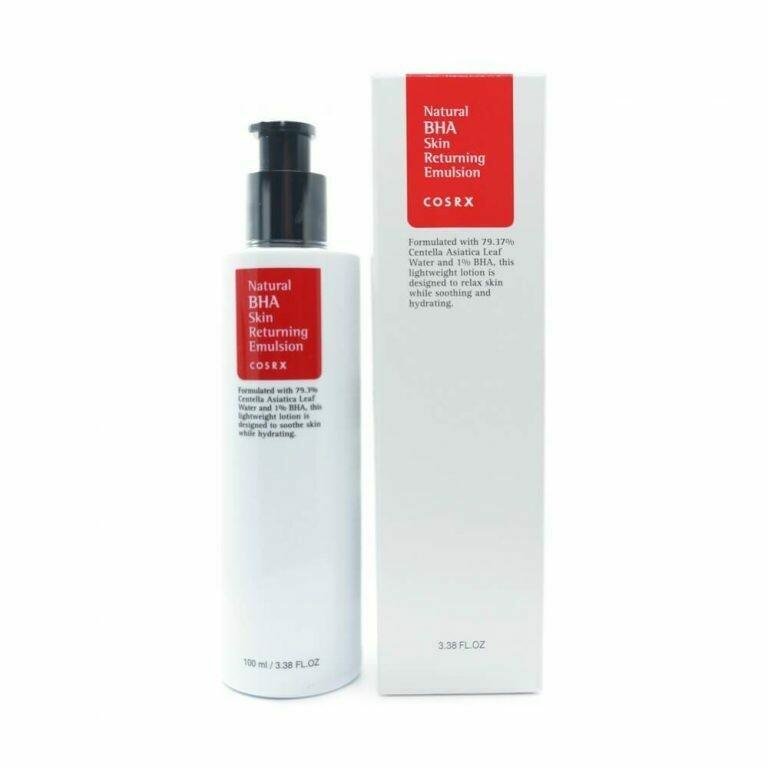 Лечебная эмульсия для проблемной кожи с BHA COSRX Natural BHA Skin Returning Emulsion 100 мл