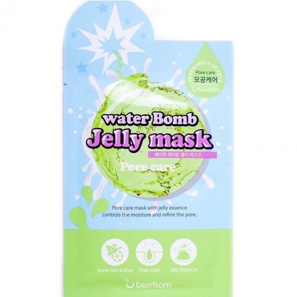 Тканевая маска-желе для лица Berrisom water Bomb Jelly mask 33 мл