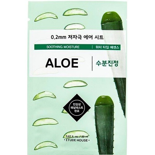 Тканевая маска 0.2 Therapy Air Mask Aloe Etude House