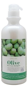 Шампунь-бальзам Lebelage Olive Two Way Shampoo 750 мл