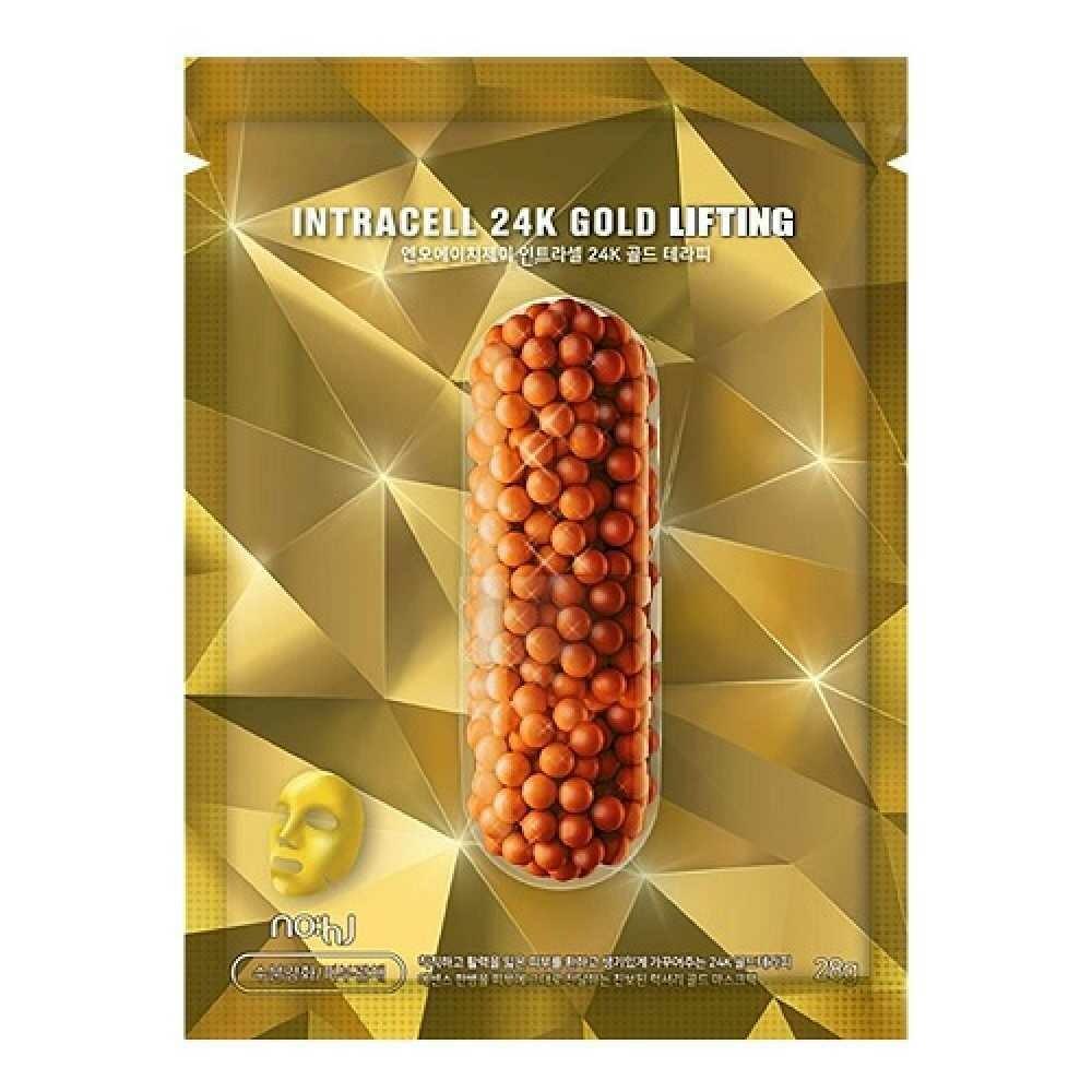 NOHJ Маска тканевая Power Foll 24K Gold Lifting Mask 28 мл