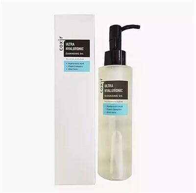 Гидрофильное масло с гиалуроновой кислотой Ultra Hyaluronic Cleansing Oil от Coxir 150 мл