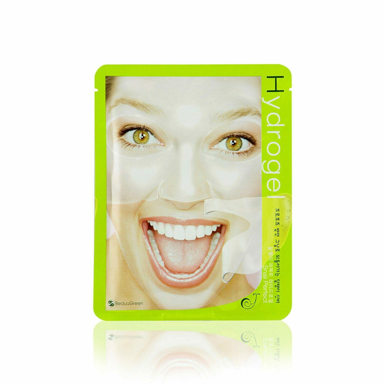 Гидрогелевая маска BeauuGreen Hydrogel Snail Perfect Mask 23 мл