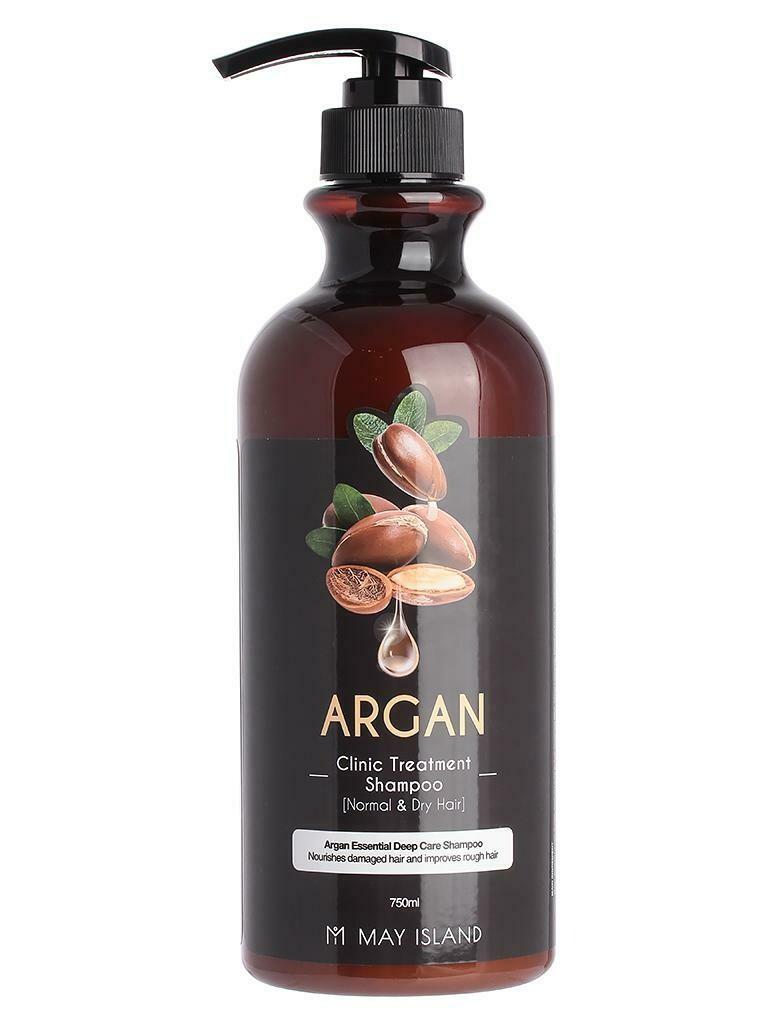 Шампунь для волос May Island Argan Clinic Treatment Shampoo 750 мл