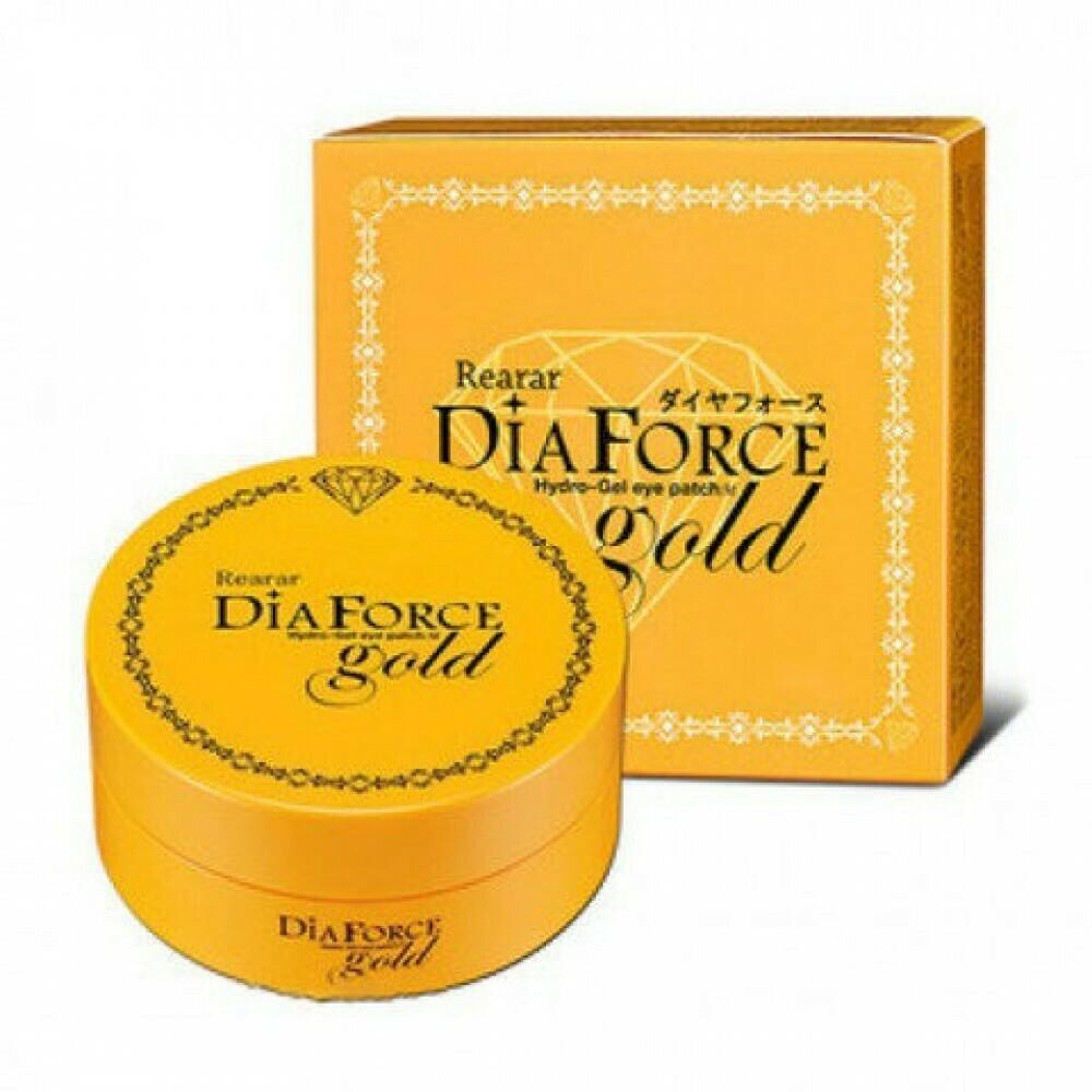 Гидрогелевые патчи с золотом Dia Force Rearar Hydro-Gel Eye Patch Gold