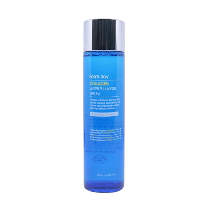 Сыворотка для лица FarmStay Collagen Water Full Moist Serum 250 мл