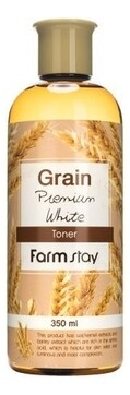 Тонер для лица с маслом ростков пшеницы Grain Premium White Toner Farm Stay 350 мл