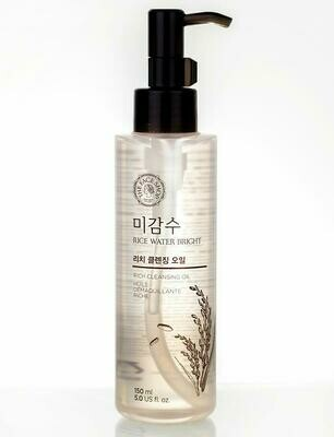 Гидрофильное масло The Face Shop Rice Water Bright Cleansing Light Oil 150 мл