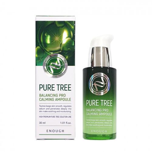 Сыворотка для лица с экстрактом чайного дерева Enough Pure Tree Balancing Pro Calming Ampoule 30 мл