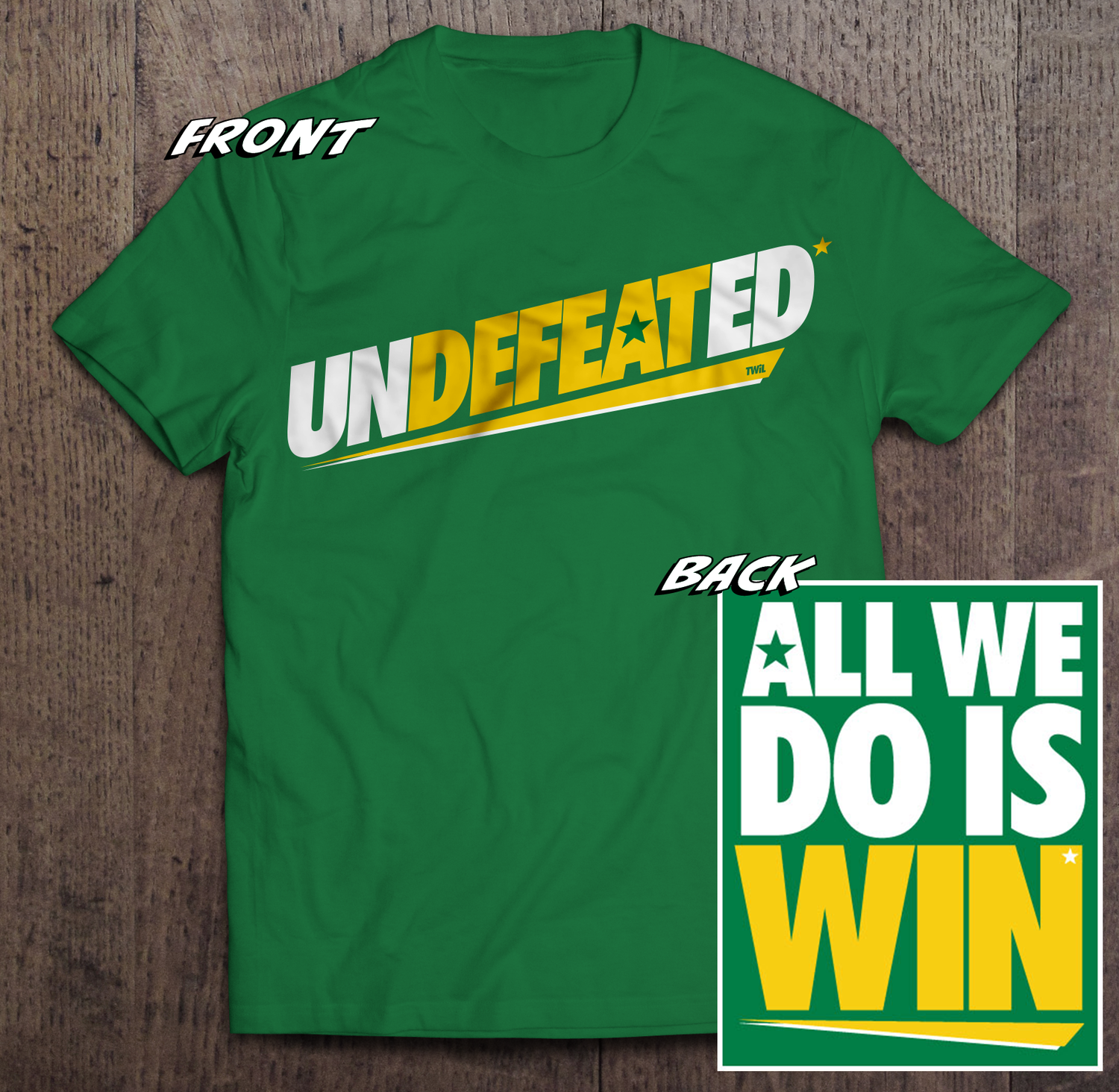 Undefeated* Tshirt