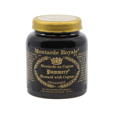 Moutarde Royale Pommery Mustard with Cognac France 3.5oz
