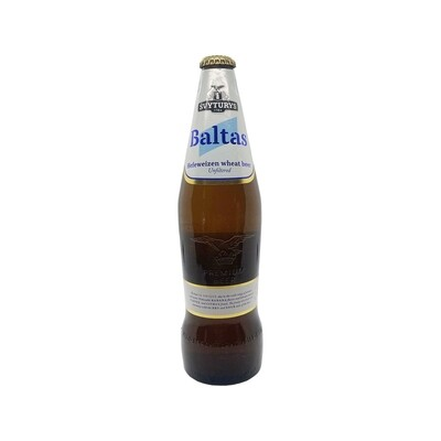 Svyturys Baltas Unfiltered Hefeweizen Wheat Beer Lithuania 500ml