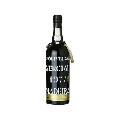 1977 D'Oliveiras Sercial Vintage Madeira Portugal