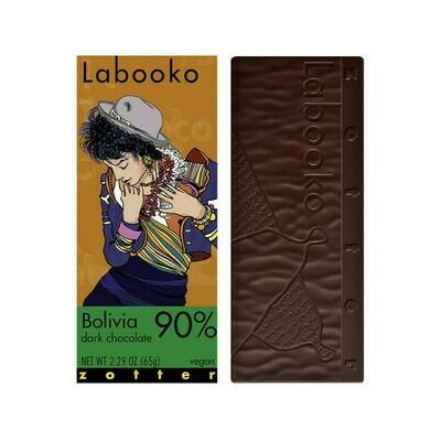 Zotter Bolivia 90% Dark Chocolate 2.29oz
