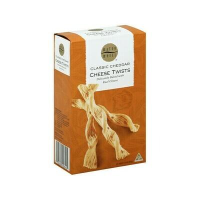Waterwheel Classic Cheddar Cheese Twists Australia 3.9oz