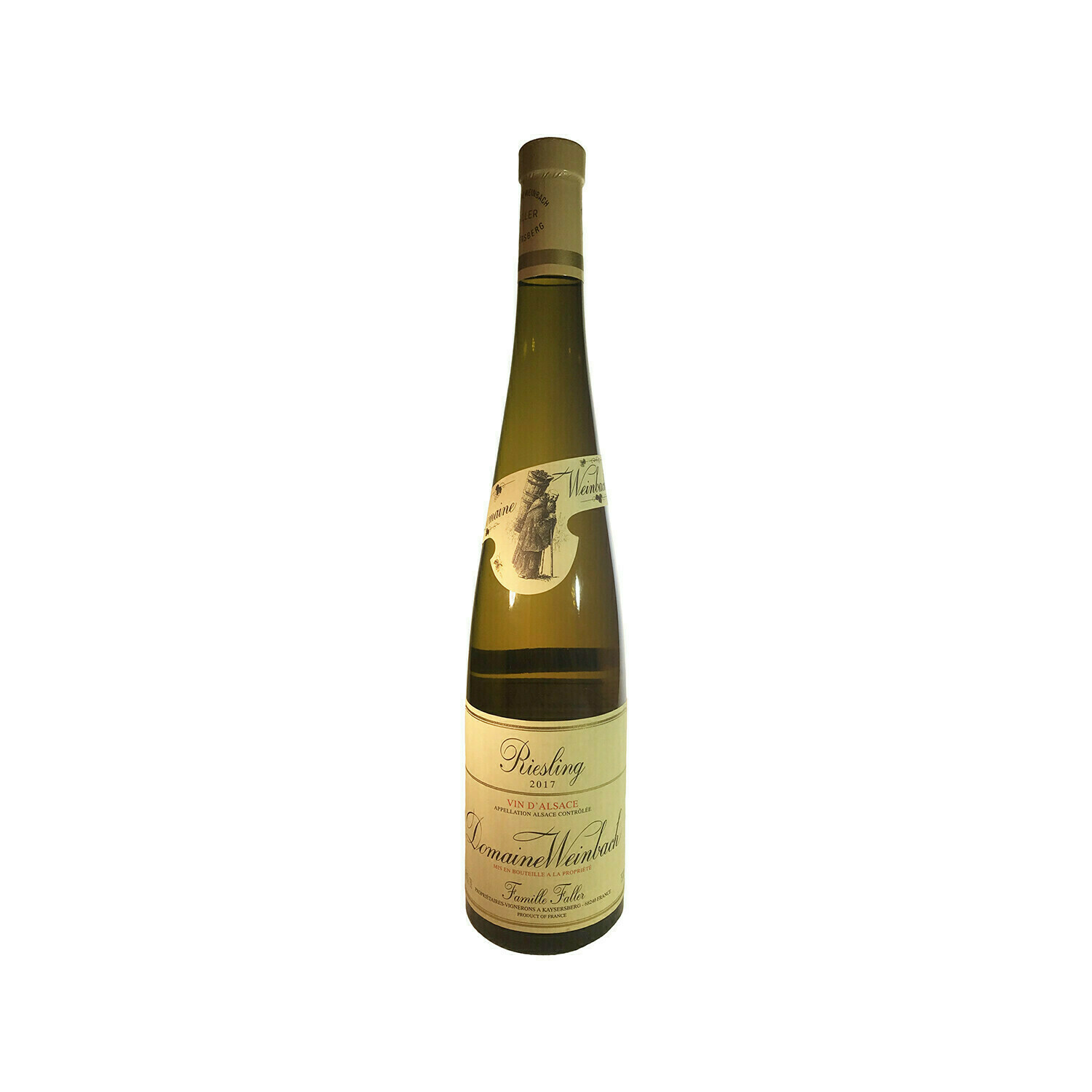 2017 Domaine Weinbach Riesling France