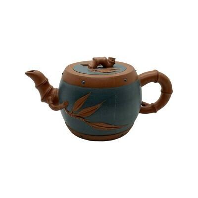 Bamboo Drum Tea Pot 13.5oz