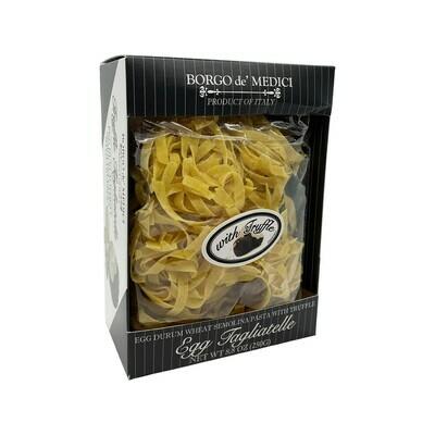 Borgo de' Medici Egg Tagliatelle Semolina Pasta with Truffle Italy 8.8oz