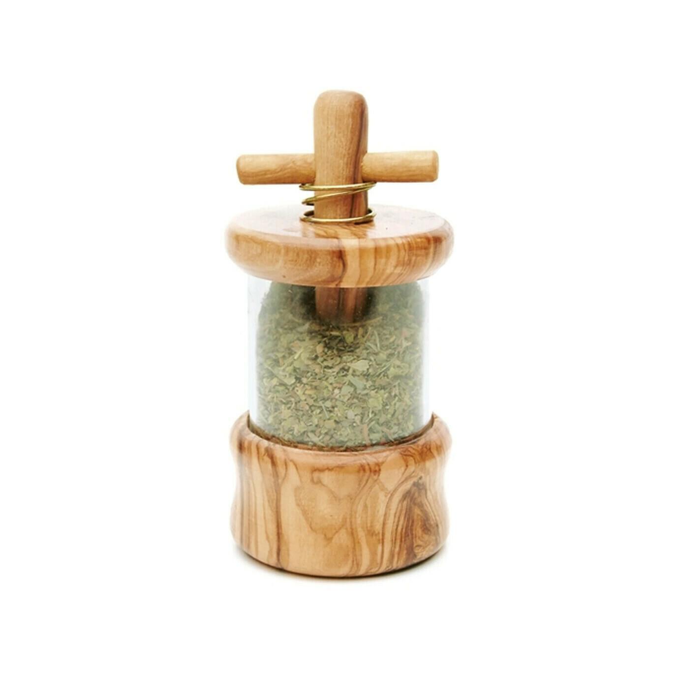 Berard Olive Wood Herbs Mill France